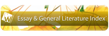 Essay and General Literature Index